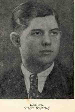 Elevul erou Virgil Iovănaş